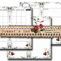 Summer's End - Ephemera's Vintage Garden