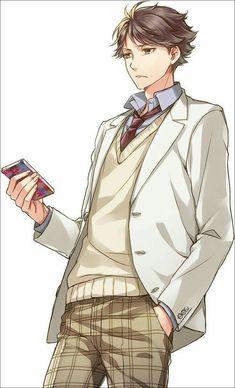 Anime Boys, Manga Anime, Oc Manga, Hot Anime Guys, Oikawa Tooru, Iwaoi, Kagehina, Otaku, Haikyuu Fanart