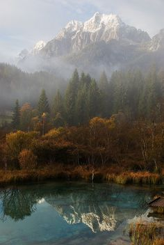 Breathtaking. Autumn reflections at Zelenci Spring, Slovenia (by RenatoG_rm).