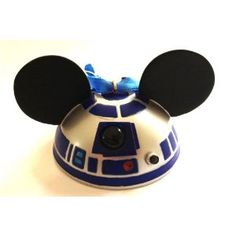 Disney Mickey Mouse Ears Hat Star Wars R2D2 Limited Edition Ornament