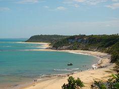 Praia do Espelho Bahia, Brasil