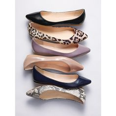 Victoria's Secret Pointed-toe Flat by None, via Polyvore