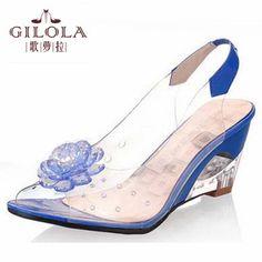 Trending Styles - AliExpress.com. Chaussure  Coins Ouverts  Sandales  Compensées · Chaussures De Gelée · Chaussures Pour Femme  Sandales Pas Cher  ... fc67873fa814