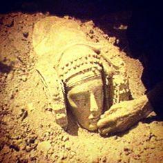 Descubrimiento de la Dama de Elche. Dama de Elche discovery. Spain