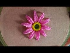 Hand Embroidery Designs | Pump lace stitch | Stitch and Flower -139 https://youtu.be/vR0eqb1d-JE Store: http://handembstitch.blogspot.com/p/embroidery-store.html Clothing is important as a commodity because it has worldwide appeal and plays a substantial