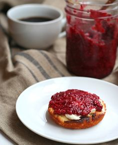Low Carb Raspberry Chia Seed Jam Recipe | All Day I Dream About Food