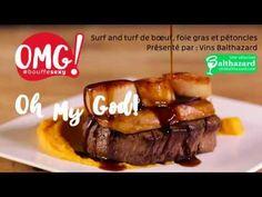 Surf and turf de bœuf, foie gras et pétoncles - vin - steak- bbq - grillades - pratico pratiques