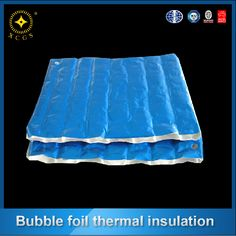 Customized big air bubble blue coating aluminum foil insulation with thermal function