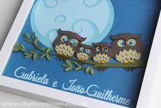 porta maternidade familia coruja - Pesquisa Google