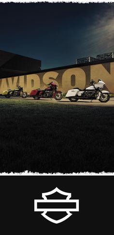 The 3 darkest horses yet. | 2018 Harley-Davidson Touring Specials