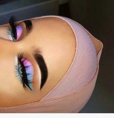 Gorgeous Makeup: Tips and Tricks With Eye Makeup and Eyeshadow – Makeup Design Ideas Eye Makeup Glitter, Pink Makeup, Cute Makeup, Pretty Makeup, Eyeshadow Makeup, Makeup Brushes, Makeup Primer, Eyeshadows, Eyebrow Makeup