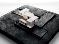 resin architecture model Denver Art Museum explores architectural oeuvre of Brad Cloepfil and Allied Conceptual Model Architecture, Architecture Concept Diagram, Architecture Design, Conceptual Drawing, Conceptual Design, University Architecture, Landscape Model, Urban Landscape, Schematic Design
