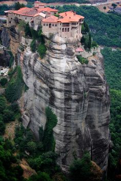 Meteora, Thessaly, Greece #Travel