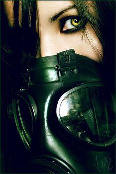 Goth.. love the eye make up tho.
