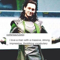 One of the reasons I love Tom Hiddleston