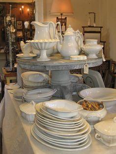 Ironstone china at Scarlett Scales - Franklin, TN