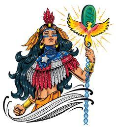 Taino Tattoos, Native Tattoos, Celtic Tattoos, Stomach Tattoos, Hip Tattoos, Sleeve Tattoos, Tatoos, Butterflies Stomach, Puerto Rico Tattoo