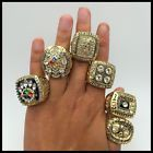 1974 1975 1978 1979 2005 2008 Pittsburgh Steelers championship ring 6 together !