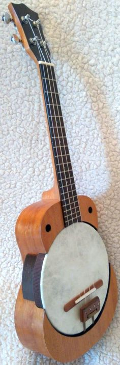 Buzzards Field Unified Tenor Banjolele (Not seen one of these for a while) --- https://www.pinterest.com/lardyfatboy/
