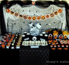 This could be the new twist to doing another Mickey/Disney party for Chase's birthday.  His birthday is just a few days after Halloween.