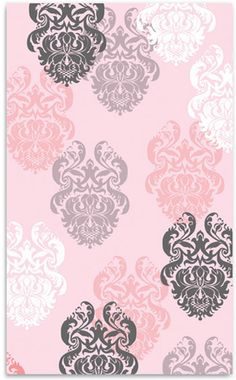Strike the perfect balance between sweet and sophisticated with this hand tufted cotton loop rug.  AnnaBean�s kids carpet features an absolutely beautiful brocade design in alternating white, pink, grey and lavender colors.  Choose between 2 sizes to complete the look of your girls room. $225