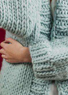 Knitting Kit Wool Simone Cardigan
