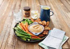 Spicy Peanut Butter Hummus Recipe - Oh yes!