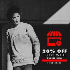 20% OFF Labour Weekend Storewide Sale @ Empire Skate - Bargain Bro