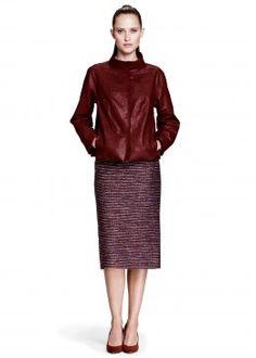 Vintage Lambskin Darra Topper and Sherry Tweed Priscilla Skirt