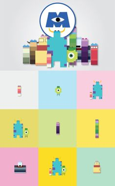 Monsters Inc Lego.