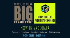 Have a Broader perspective towards your career and live the Life you desired @ JD Institute of Fashion. #jdfashioninstitute , #fashion , #interiordesign , #Vadodara‬
