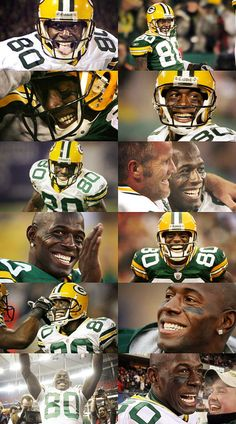 Thank you, Donald Driver.     (Green Bay Packers)