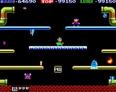 Arcade Archives Mario Bros. - more screens   More here  from GoNintendo Video Games