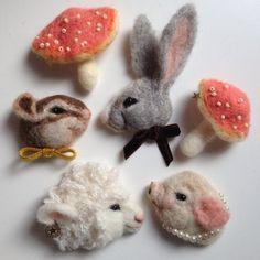 はじめましての画像   羊毛フェルト☆Tomoko Kubo: