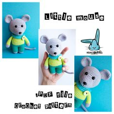 Check out this item in my Etsy shop https://www.etsy.com/listing/264342572/little-mouse-amigurumi-crochet-pattern amigurumi mouse crochet pattern kawaii toy