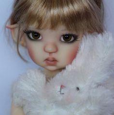 Hand Cast Resin MeiMei Elf MSD bjd by Kaye Wiggs