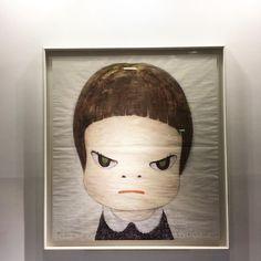 Yoshitomo Nara 奈良美智 / 狠狠揍我 #yoshitomonara #arttaipei2016