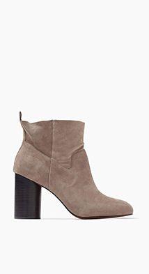 Esprit / Módní semišová obuv