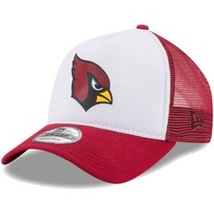 pretty nice 2f7e3 6af41 Arizona Cardinals New Era Trucker Hit 9FORTY Adjustable Hat -  White Cardinal, Your Price   23.99