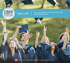 Celebrate what your grad has achieved and what's to come!