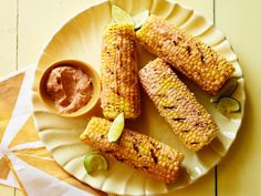 Mexican Street Corn recipe from Sunny Anderson via Food Network