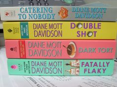 Fun cozy mysteries with great recipes. (Diane Mott Davidson)