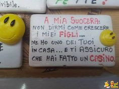 Messaggio per la suocera Cogito Ergo Sum, To My Mother, Crazy People, Some Fun, Funny Cute, Dumb And Dumber, Einstein, Haha, Smile