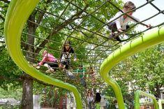Schulberg playground, Wiesbaden Germany, Annabau, 2011 | Playscapes