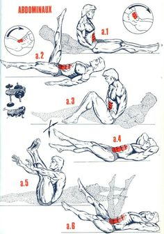 exercícios para o abdômen.
