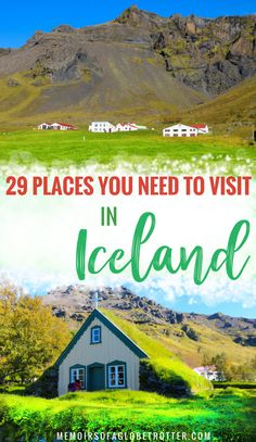 With #glaciers, #waterfalls, #geysers and lava fields, #Iceland has some of the most stunning scenery on the planet! #europe