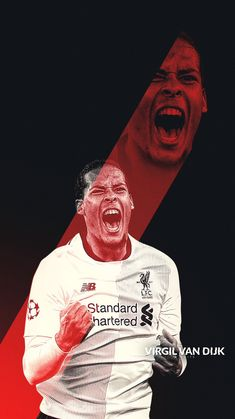Football Today, Liverpool Wallpapers, This Is Anfield, Virgil Van Dijk, Football Wallpaper, Liverpool Fc, Sports, Legends, Posters