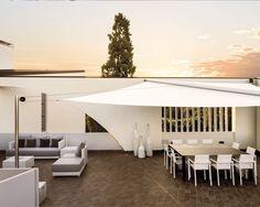 Velenda Libre - Retractable Sail / Shade Structure (Designed by Gibus)