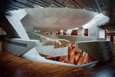 chiaki arai: kadare cultural center | designboom