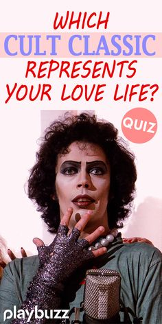 We all like to live in a fantasy world but which classic cult film represents the strange kindlings of your love life! Try this straight forward yes or no quiz to help us identify your cult love life. **** #PlaybuzzQuiz Personality Quiz Love Sex Relationship Advice Dating Tip Fear And Loathing, Rocky Horror Picture Show, Everything About You, Feeling Overwhelmed, Dating Tips, Relationship Advice, Love Life, Dreaming Of You, How Are You Feeling